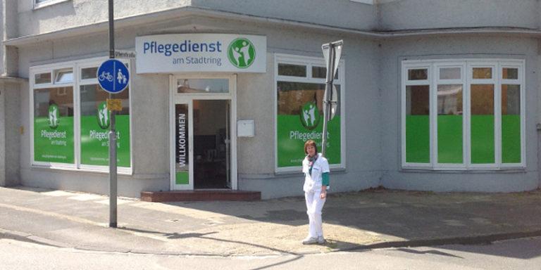 Außenwerbung Pflegedienst am Stadtring Nordhorn