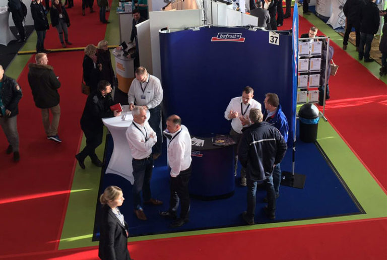Messestand Bofrost