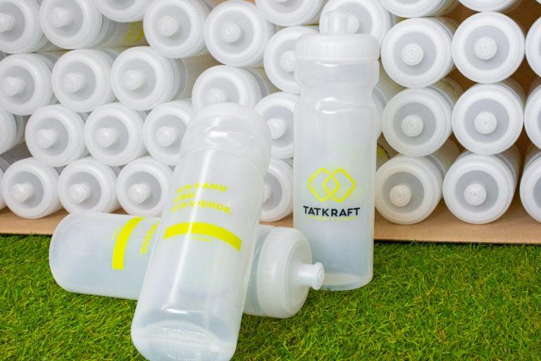 Werbeagentur Nordhorn, Trinkflaschen im Corporate Design
