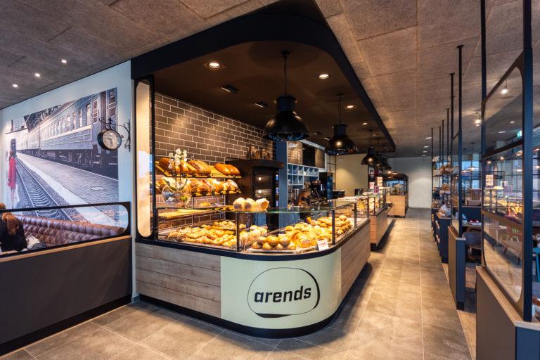 Innenansicht von der Arends Bäckerei