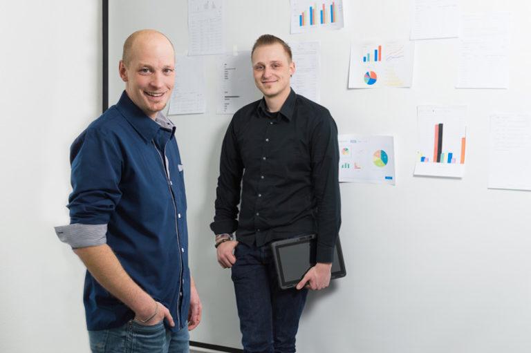 Justus Wallmeyer (links) und Benedikt Wallmeyer
