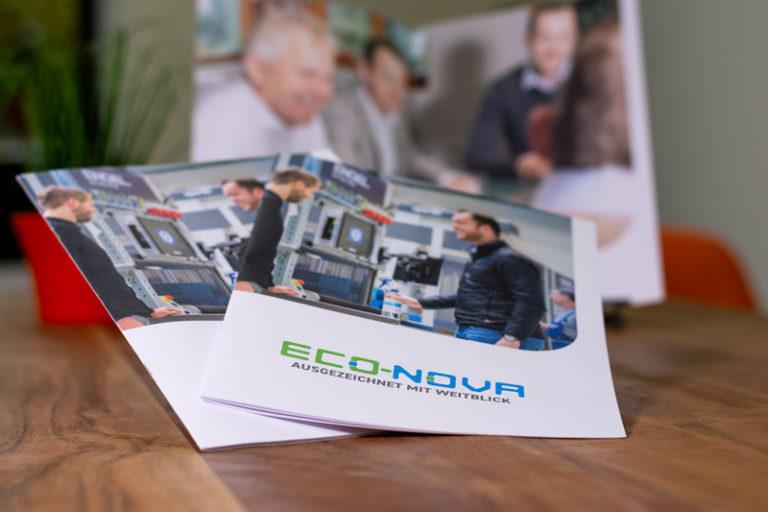 Imagebroschüren von Eco-Nova GmbH