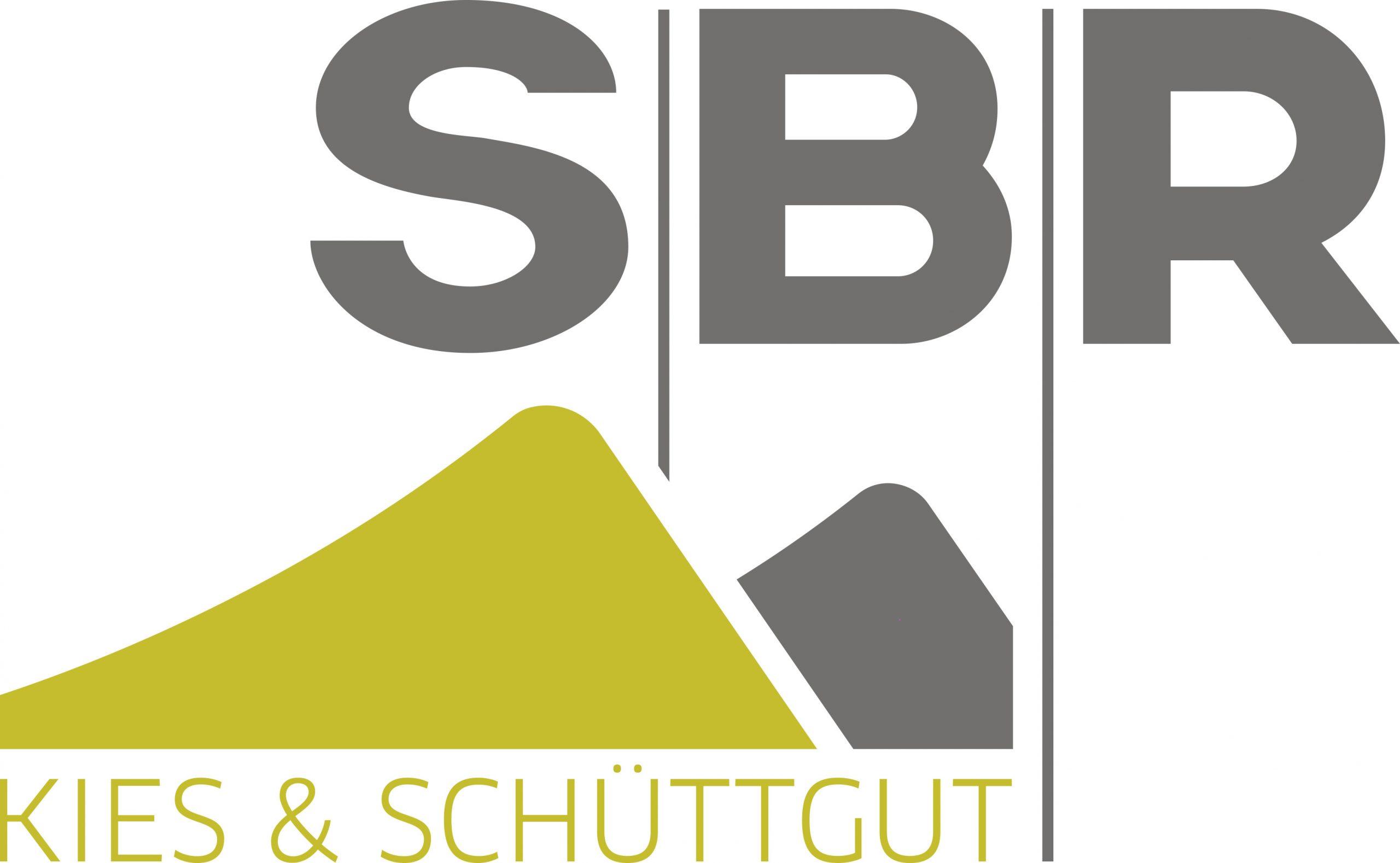 Logo der Firma SBR - Kies und Schüttgut