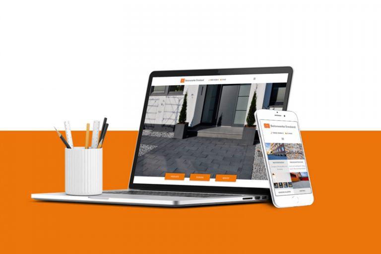 Werbeagentur Nordhorn - Webseiten Mockup