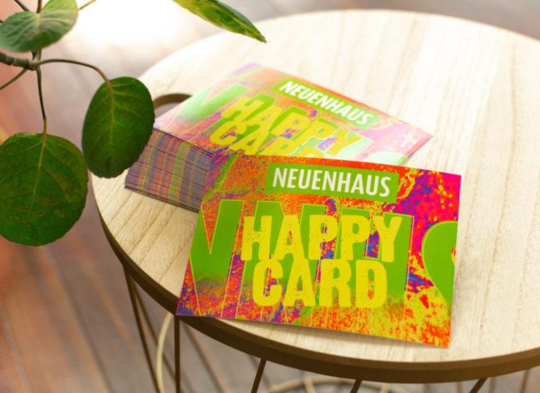 """Stadt Gutschein """"Happy Card"""" für Neuenhaus und Umgebung"""