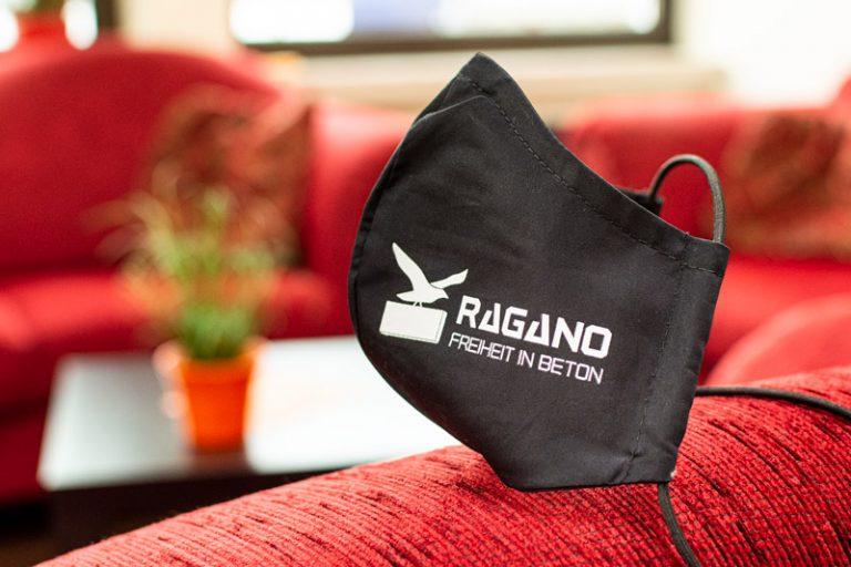 Werbeagentur Nordhorn - Schutzmaske für Ragano