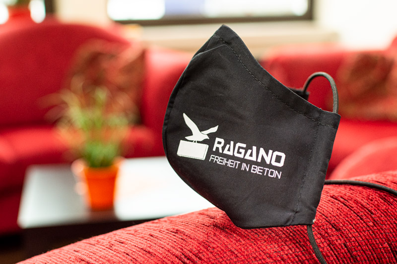 Mundschutz für Ragano