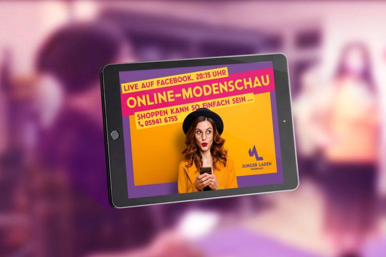 Online-modenschau