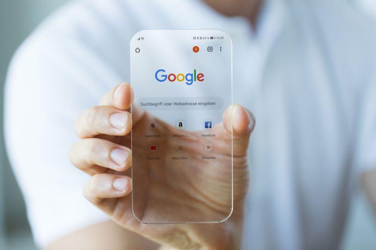 Werbeagentur Nordhorn, Google Transparentes Handy